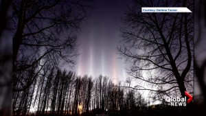 Alberta photographer captures stunning images of light phenomenon